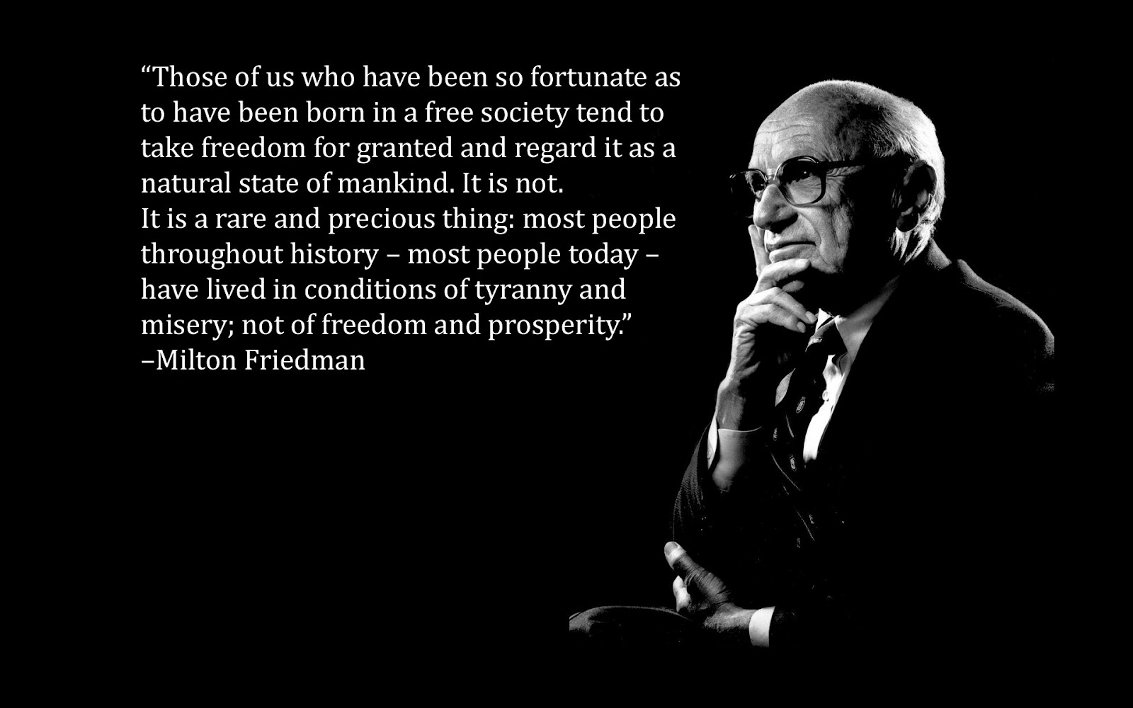 an analysis of themes in capitalism and freedom by milton friedman Milton friedman (1912 - 2006) was an american nobel laureate economist and public intellectual an advocate of economic freedom, friedman made major contributions to the fields of macroeconomics, microeconomics, economic history and statistics in 1976, he was awarded the nobel memorial prize in.