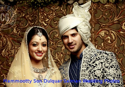 Mammootty son Dulquar Salman Wedding Photo Gallery,Stills,Images