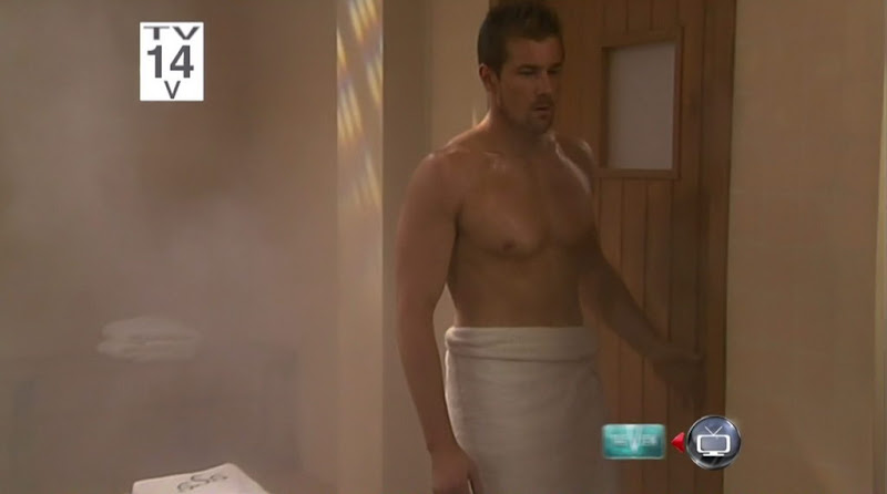 Josh Kelly Shirtless on One Life To Live 20110408