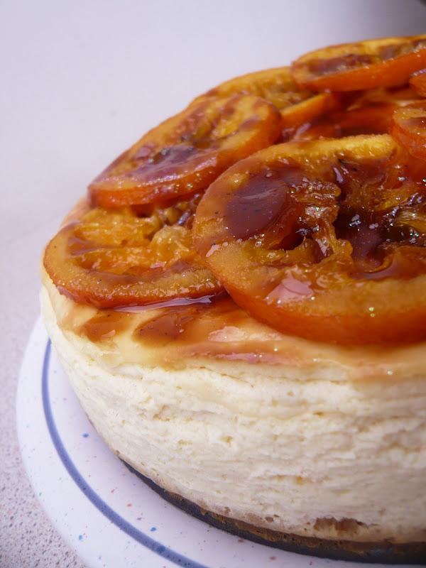 recipe orange cheesecake with candied caramelized orange cheesecake ...