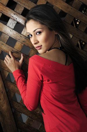 Bangladeshi model mehzabien