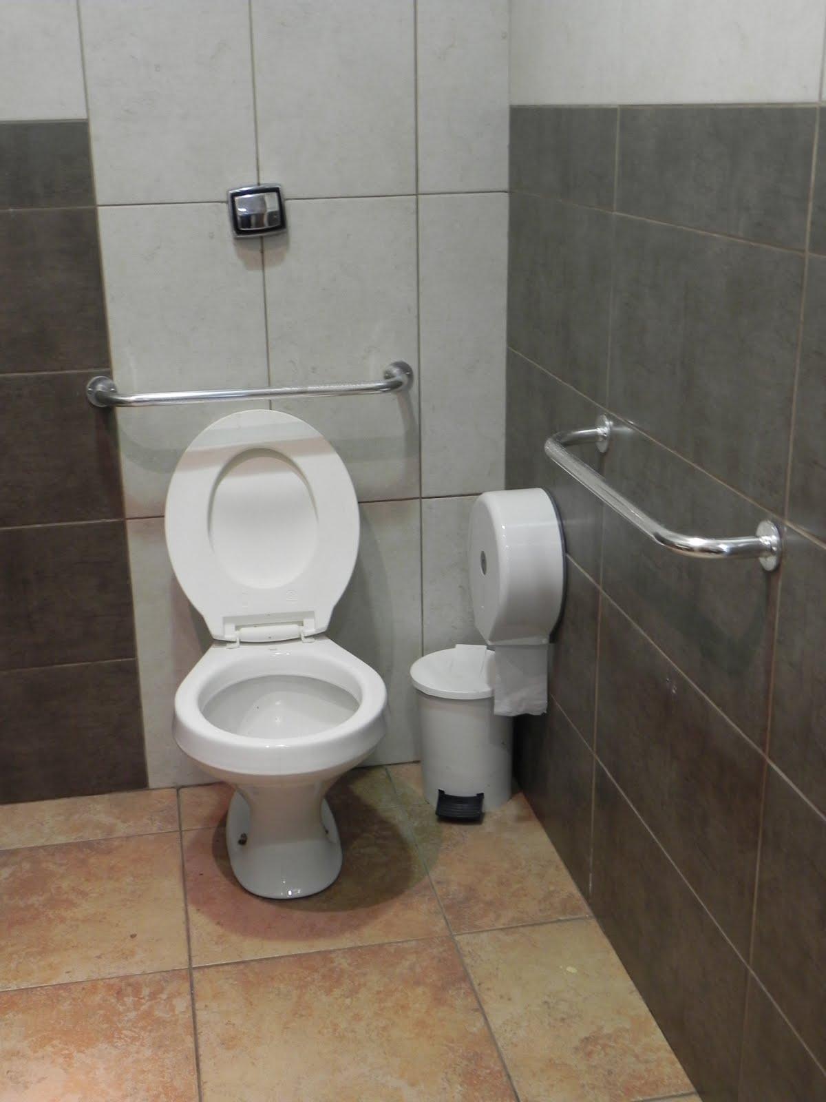 Imagens de #826549 Presença de barras de apoio junto à bacia sanitária na lateral e no  1200x1600 px 3582 Barra Para Banheiro De Cadeirante