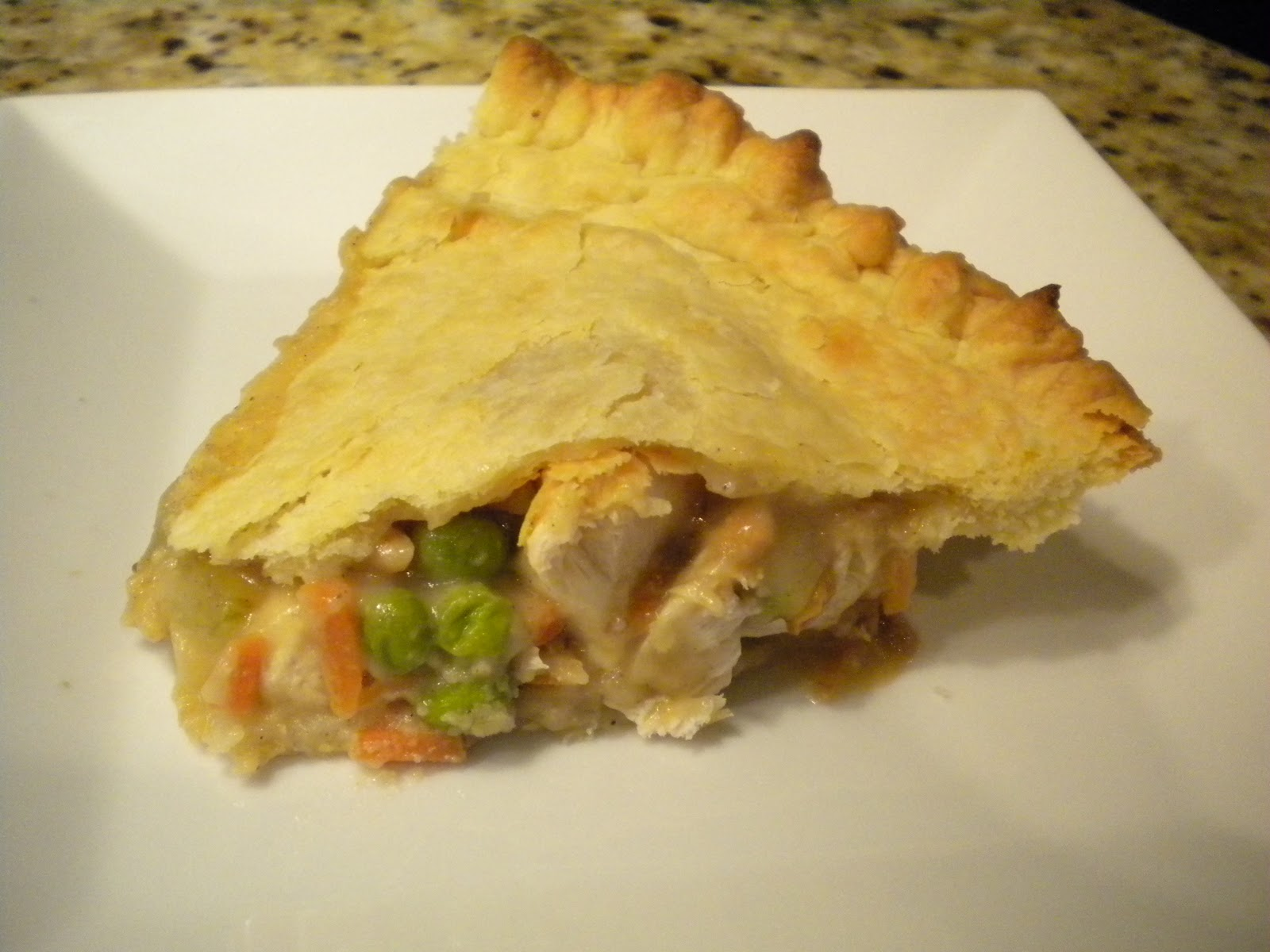 Step by Step Gourmet: Chicken Pot Pie