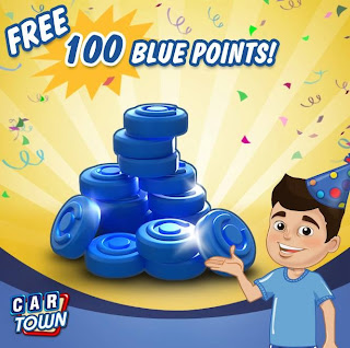 Cartown Cheats - Free 100 Blue Points!