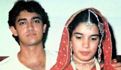 Aamir khan and Reena Dutta wedding