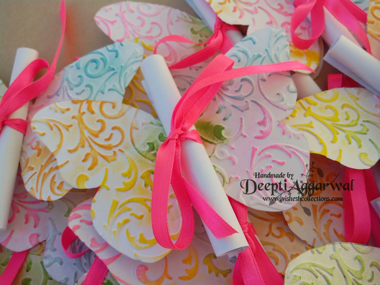 Butterfly Theme - Birthday Invites | Vishesh Collections Shop
