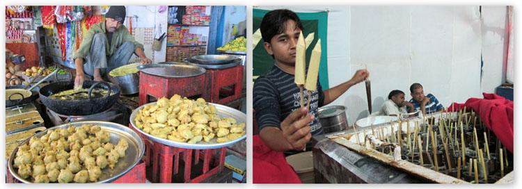 Street food from Gujarat