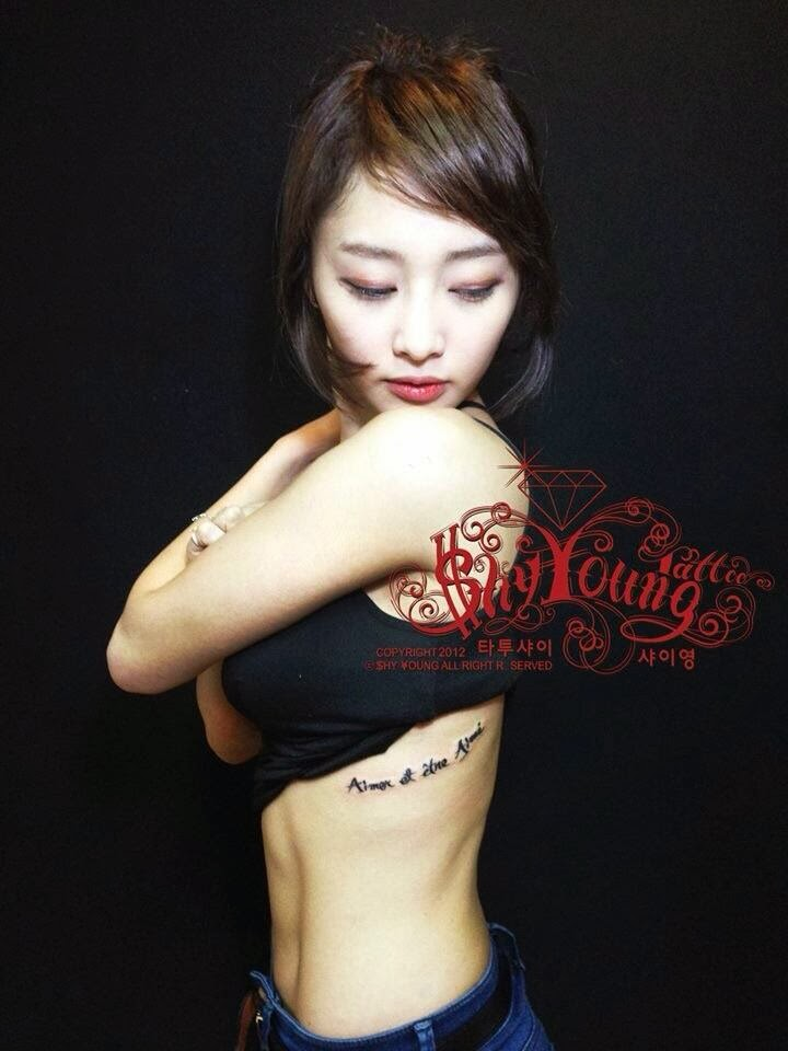 Kpop Idols with Tattoos