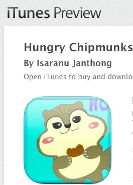 Hungry Chipmunks games