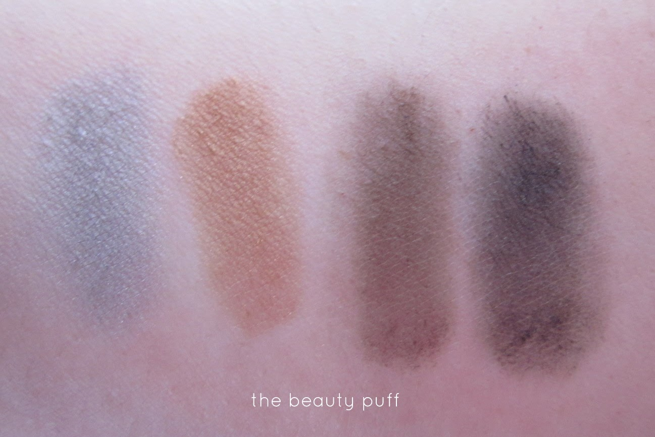 coastal scents cairo palette swatch - the beauty puff