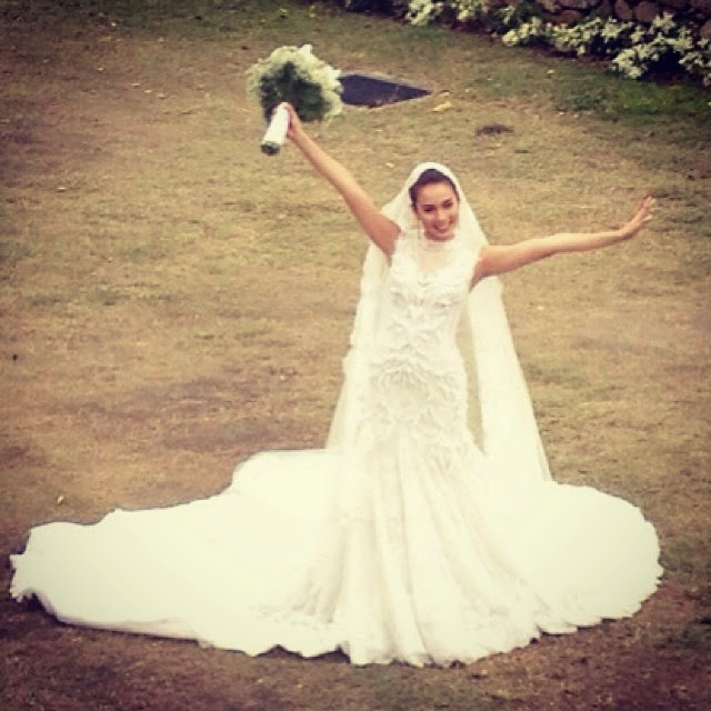 Karylle and yael wedding dresses