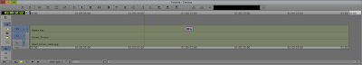 The Avid Media Composer timeline with the Avid SpectraMatte nested in a Matte Key.