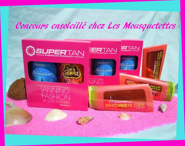 Résultats Concours Supertan chez Les Mousquetettes©