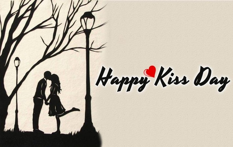 Kiss day hd wallpaper