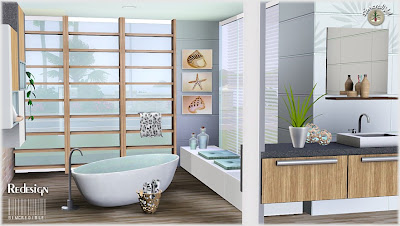 My sims 3 blog redesign bathroom set by simcredible designs for The sims 3 bathroom ideas