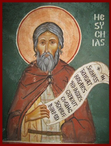 http://enlargingtheheart.wordpress.com/category/patristic/hesychios-the-priest/