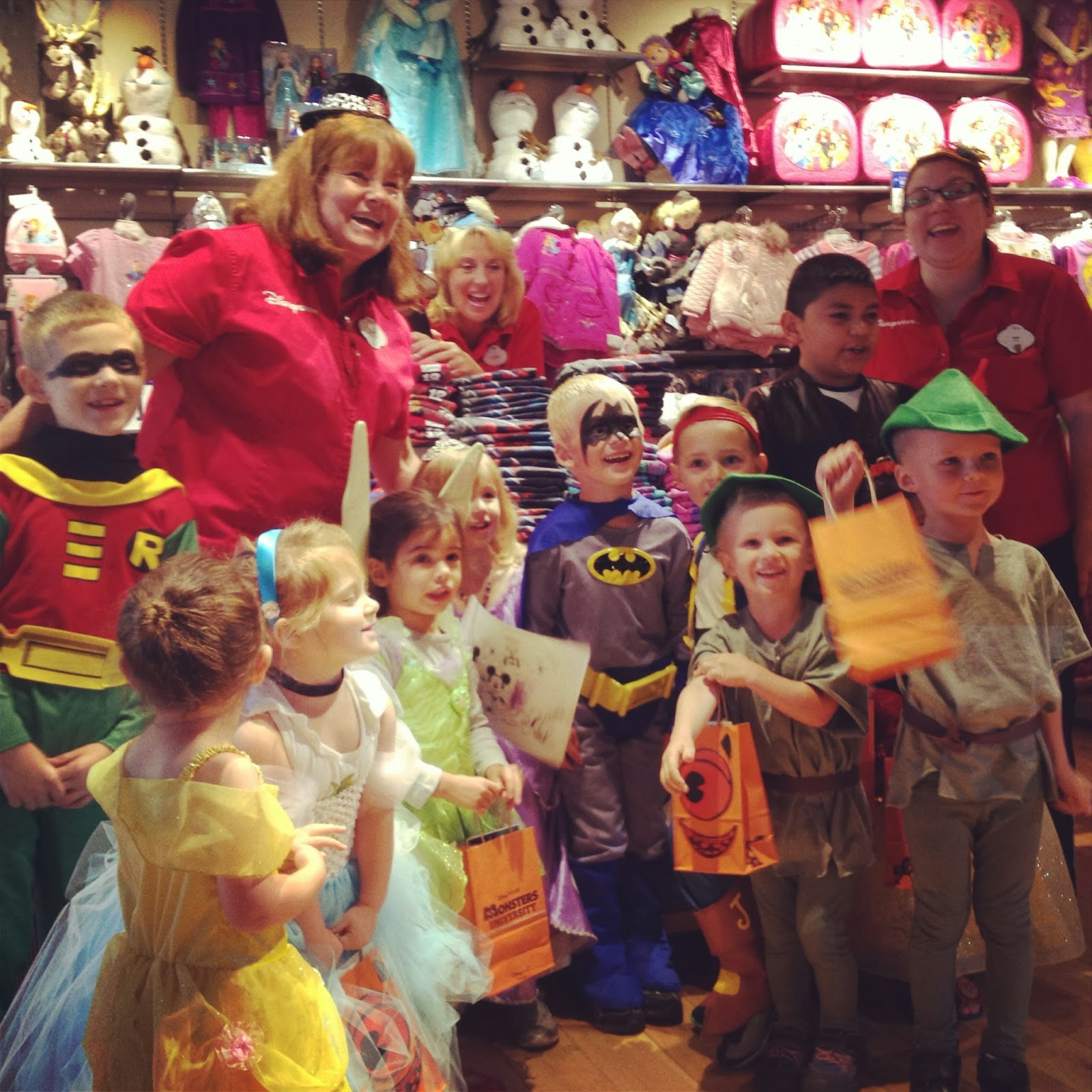 Disney Store Costume Party