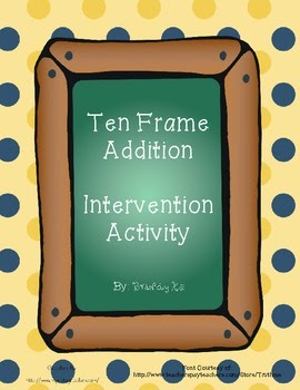 http://www.teacherspayteachers.com/Product/Ten-Frame-Addition-Activity-FREEBIE-641205