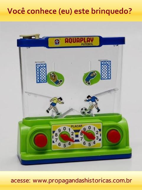 Aquaplay da Estrela: divertido jogo de fliperama a base d'água.