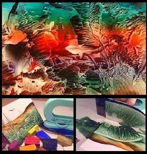 فن الانكوستك - عمل لوحات بفن النكوستك - تصميم لوحات