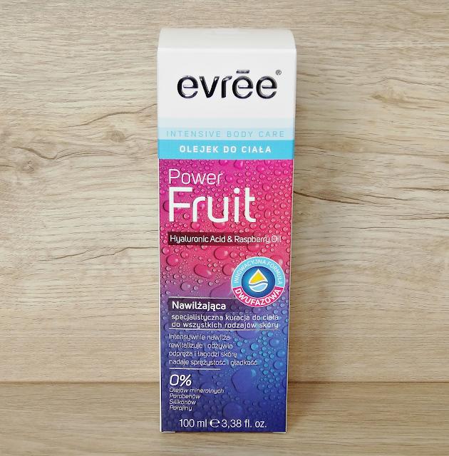 Evree, Power Fruit, nawilżający olejek dwufazowy