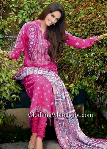 Gul Ahmed Embroidered Lawn 2015-16