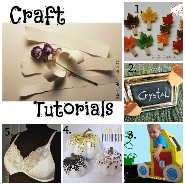 Craft tutorials linky
