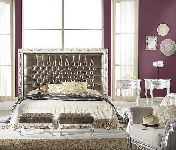 Dormitorios en p rpura y plata dormitorios con estilo for Dormitorio wengue y plata