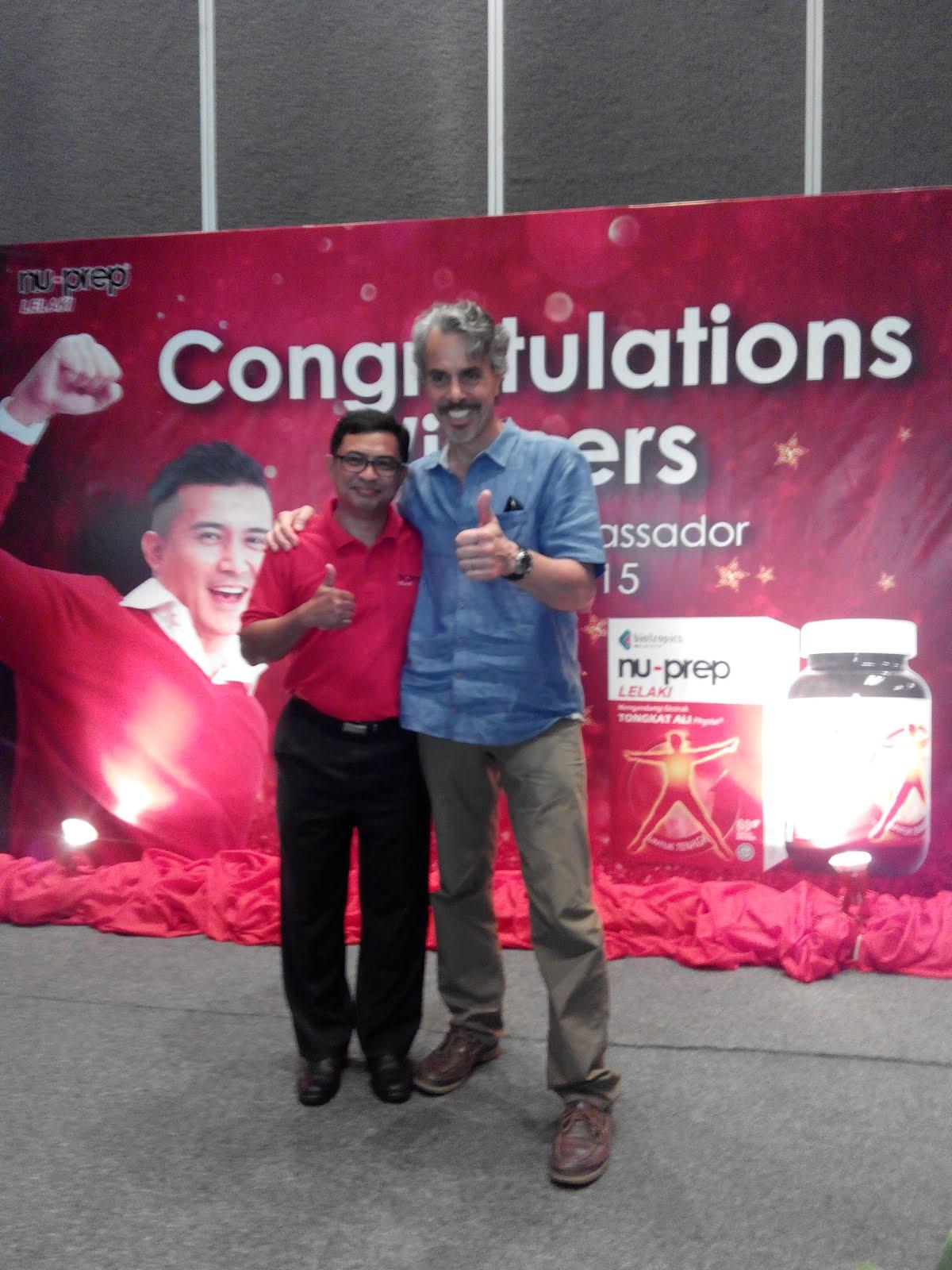Medicine Hunter - Chris Kilhem and CEO, Tengku Shahril Biotropic Malaysia Berhad
