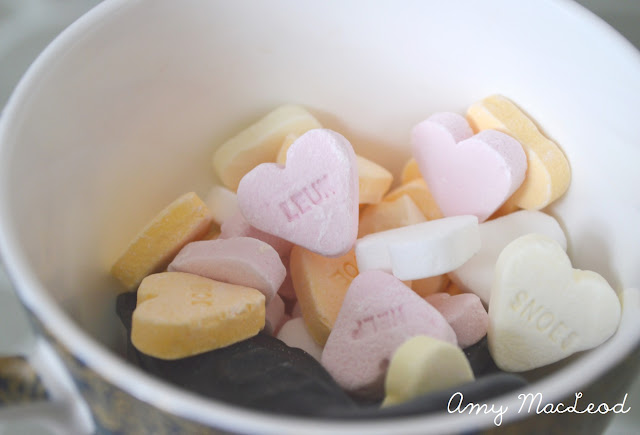 Dutch candy love hearts // Amy MacLeod, Five Kinds of Happy blog