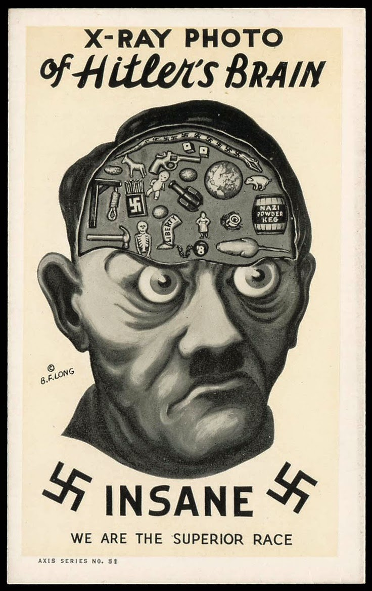 LET US CHECK HITLER'S BRAIN MAP LOL