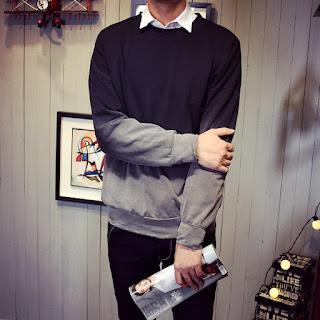 Sweater Pria Model Korea Murah Berkualitas Terbaru 2016