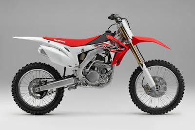 Honda CRF250R (2016) Side