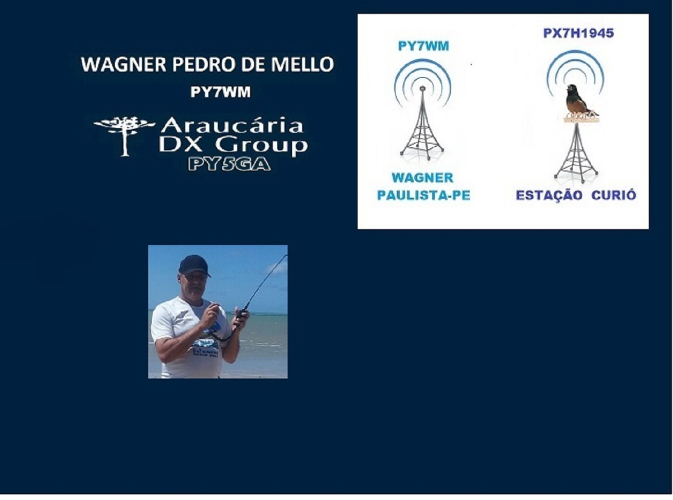 WAGNER - MEMBRO DO ARAUCÁRIA DX GROUP