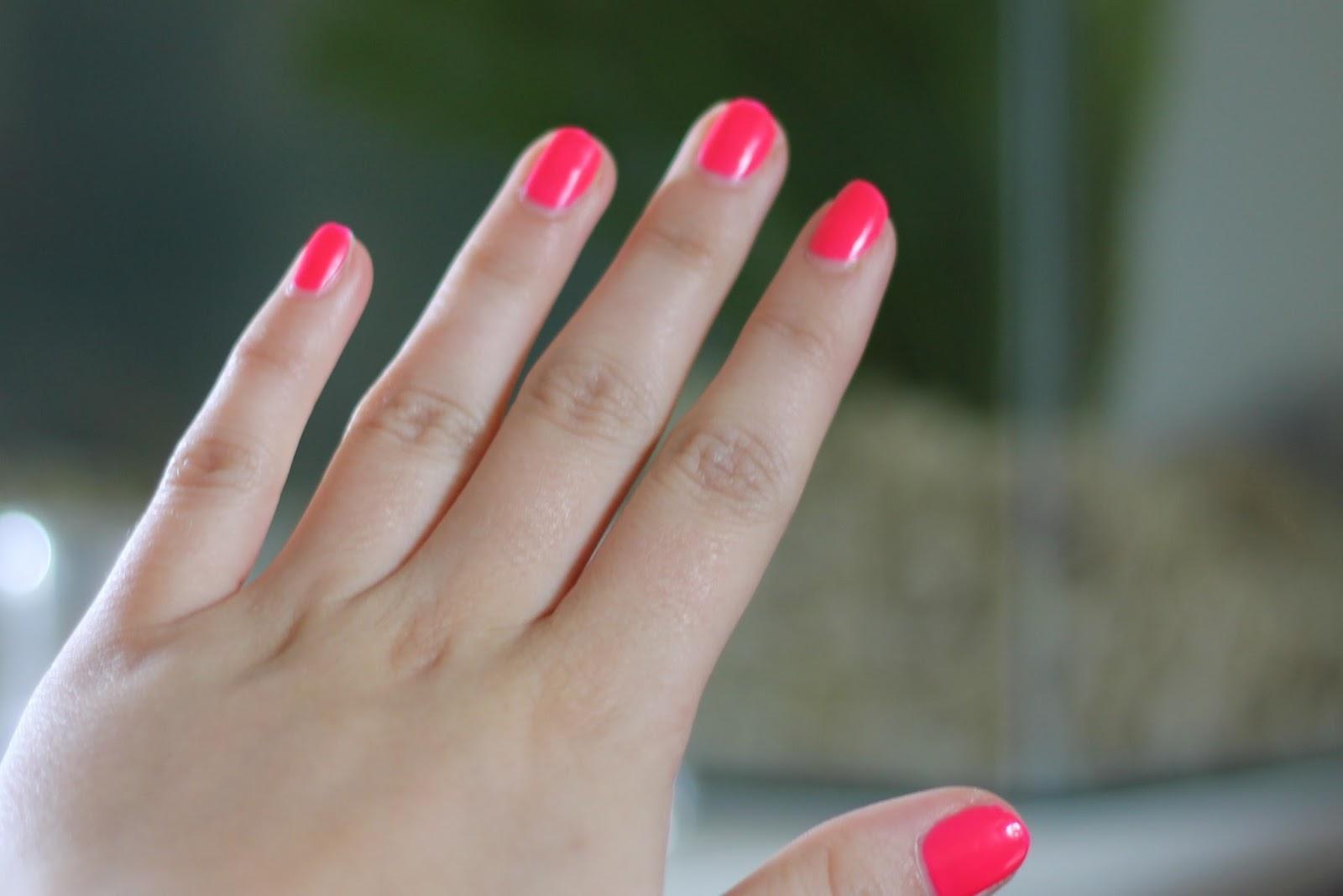 W7 Nail Polish... It\'s Pink | Charli Blogs