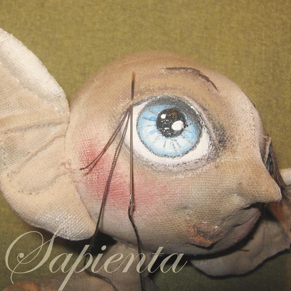 Мастер-класс по утяжке текстильной куклы, для создания рельефных черт лица. Обсуждение на LiveInternet - Российский Сервис Онлай
