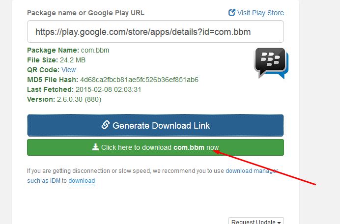 klik download