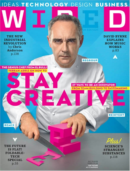 Daily Cheapskate: One year subscription to Wired magazine for the ...