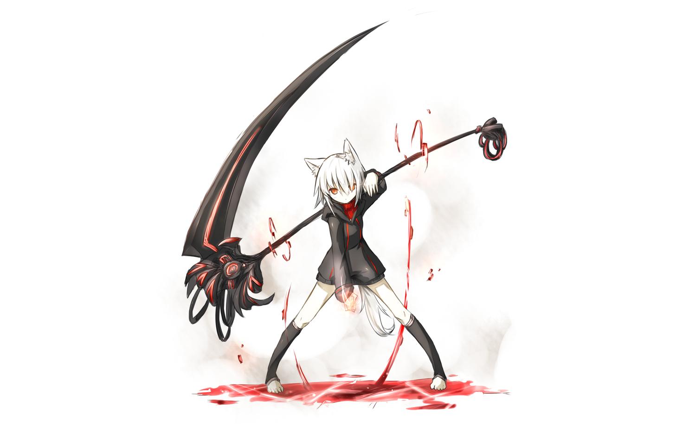 anime grim reaper scythe car interior design