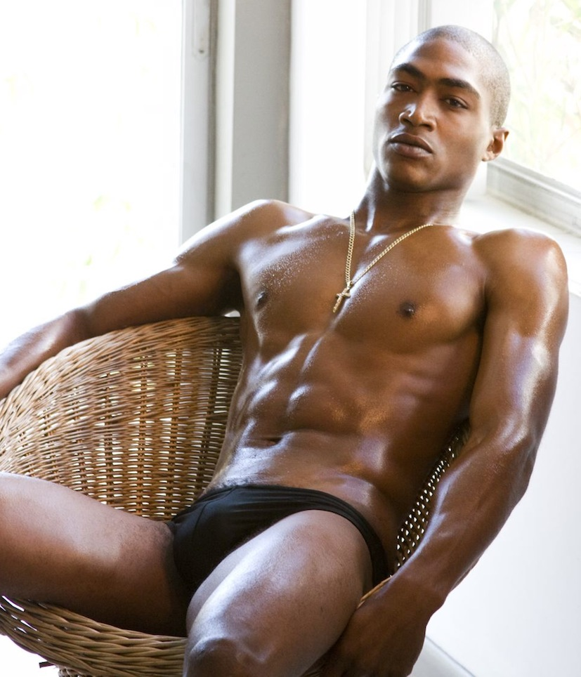 from Brooks sexy naked blacks guys