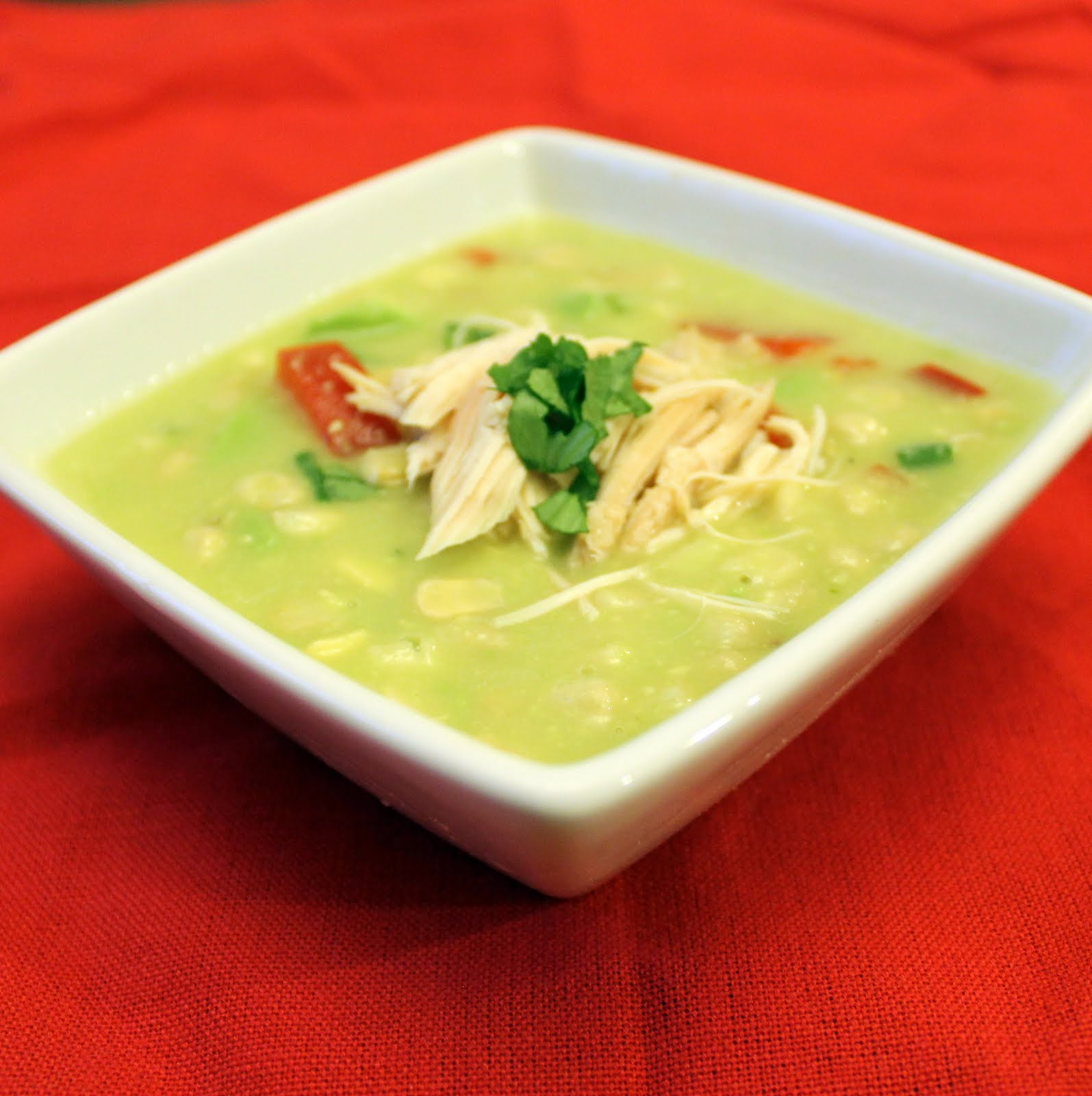 Avocado-Corn Chowder with Rotisserie Chicken | I Can Cook That
