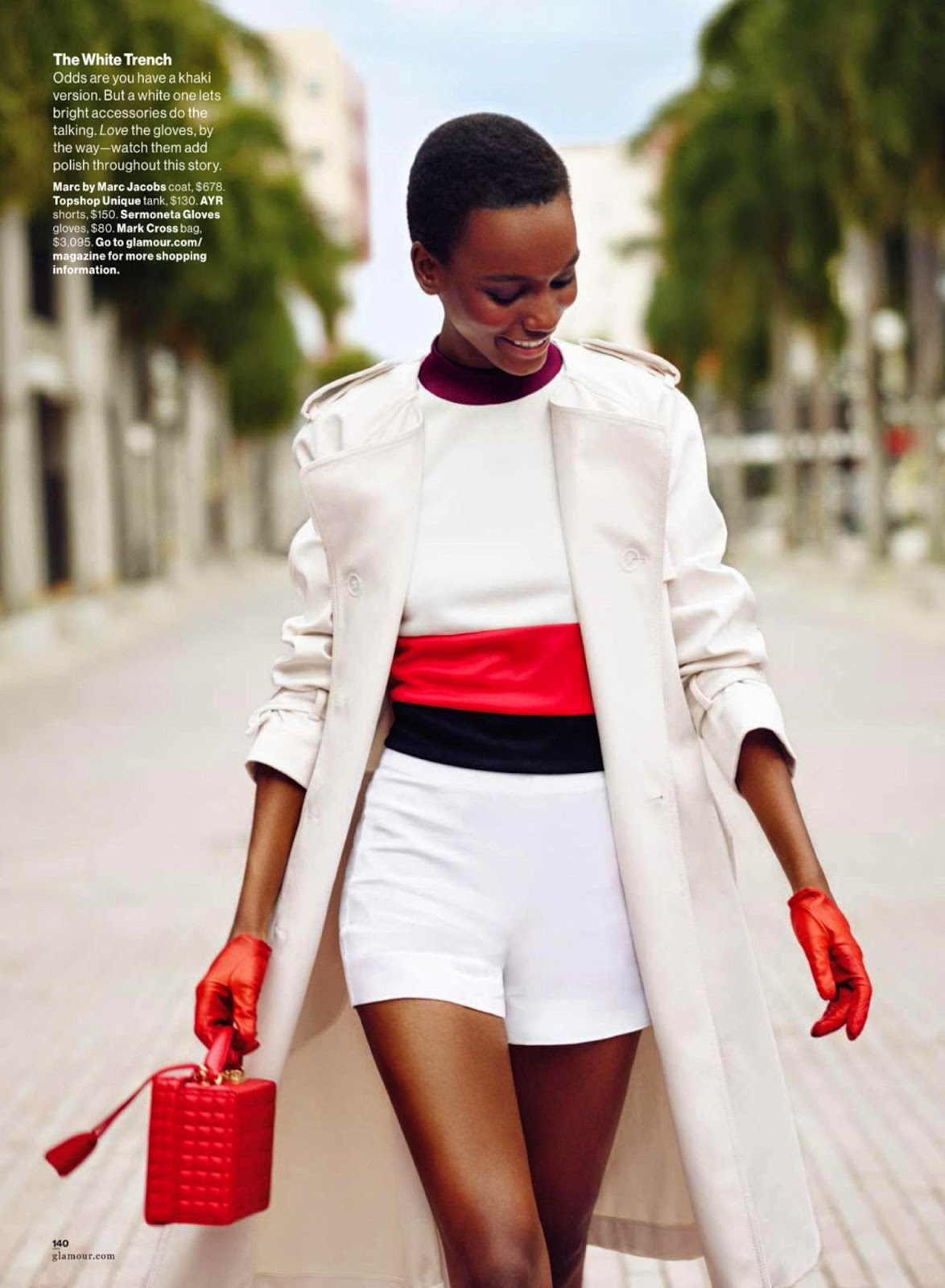 Herieth Paul - Glamour, USA, February 2015