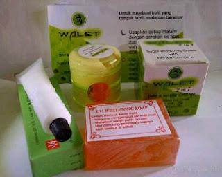 Cream Walet 2 In 1 SUPER WHITENING + SPF30 Singapura