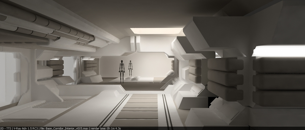 Rothery 39 s 39 moon 39 2009 lunar space station concept art is for Outer space interior design