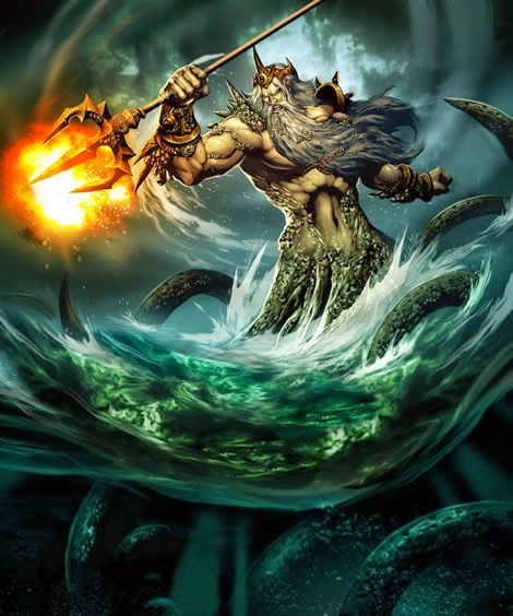 poseidon - greek-mythology