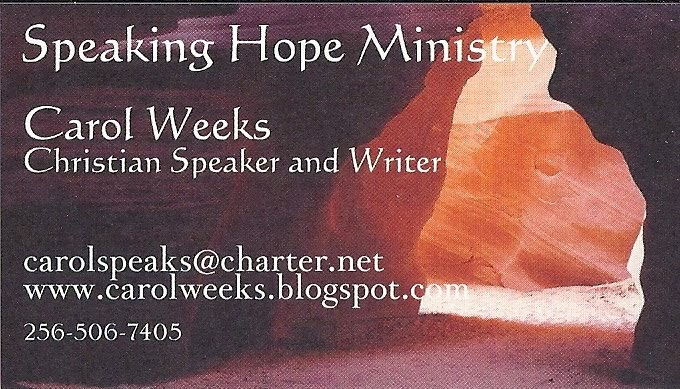 Speaking Hope Ministry