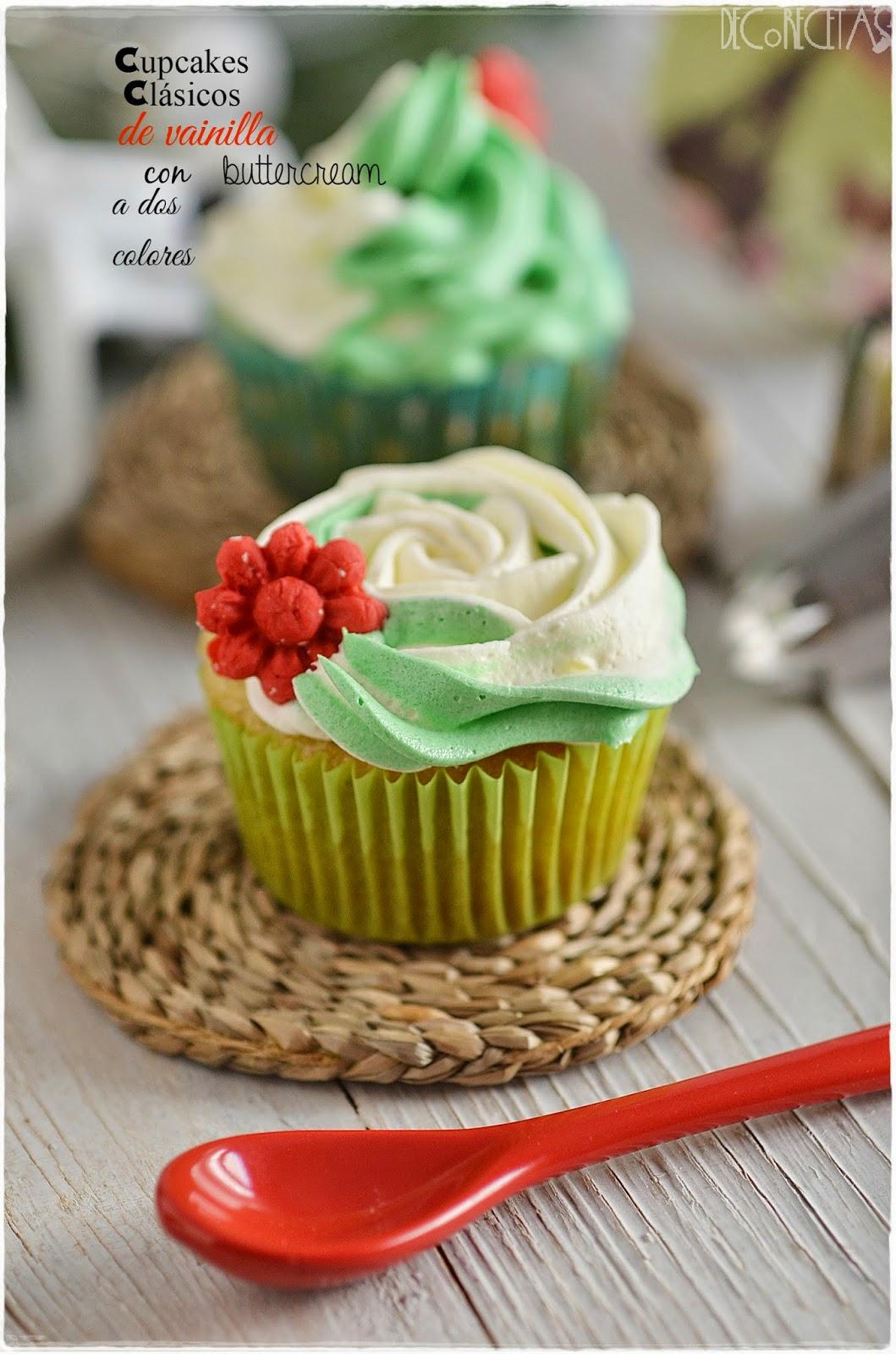 Probando cupcakes...