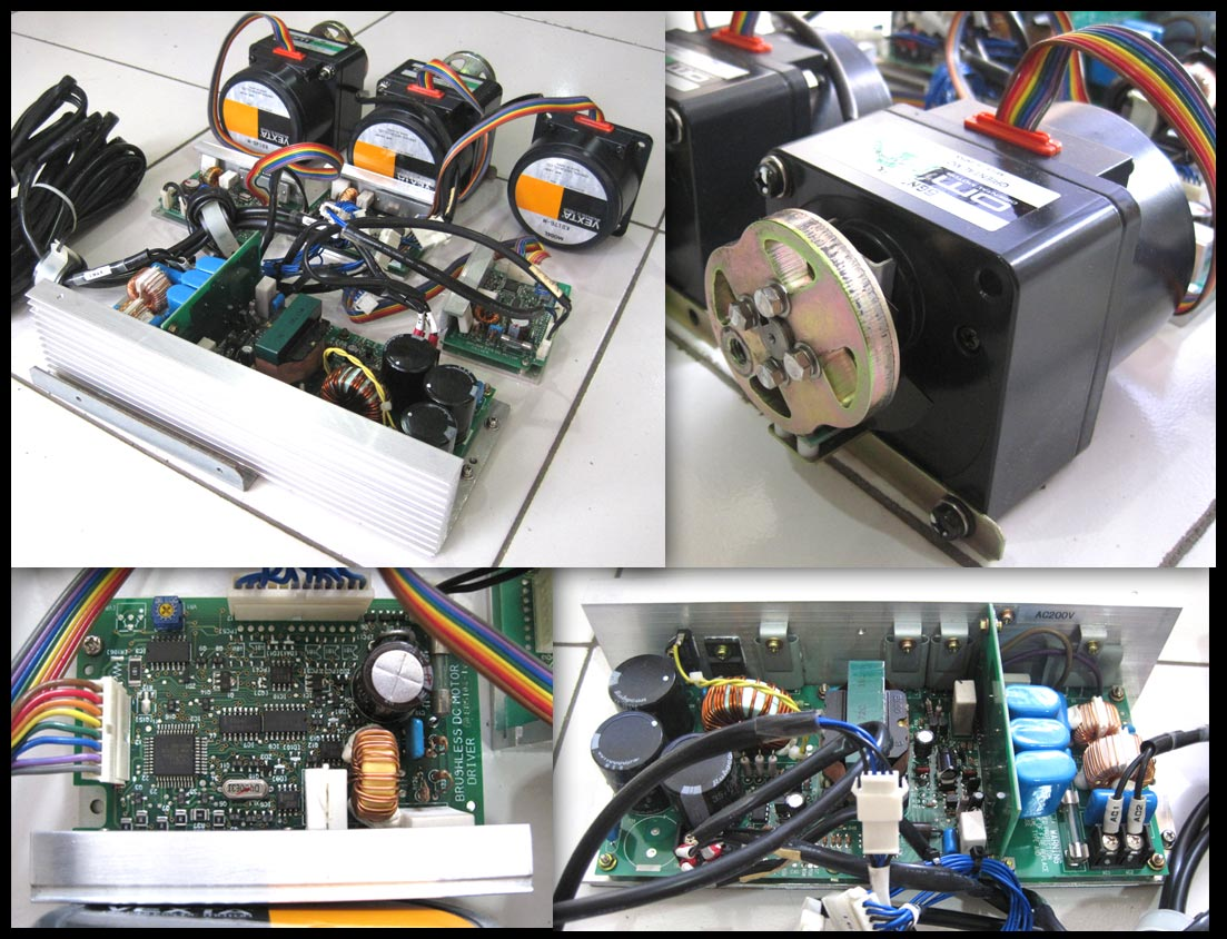2nd Machine 3 Set Brushless Dc Motor With Driver Power