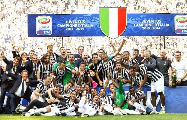 FUTBOL ITALIA--La Juve se lleva la Serie A