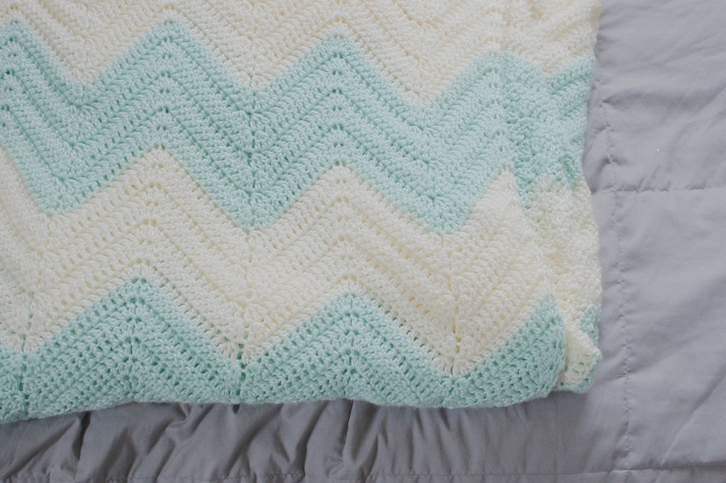 Crochet Patterns Zig Zag Blanket : Labels: crochet , crochet blanket , pattern , zig zag blanket